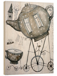 Wood  Tea-Transport - Christin Lamade