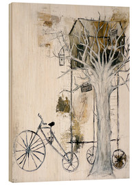 Wood print  tree-stop - Christin Lamade