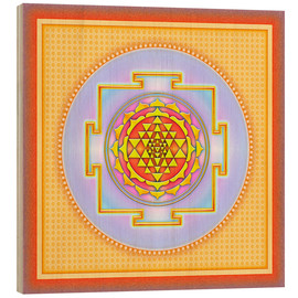 Wood  Sri Yantra - Artwork III - Dirk Czarnota