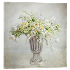 Acrylic glass  spring bouquet - Lizzy Pe