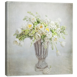 Canvas  spring bouquet - Lizzy Pe