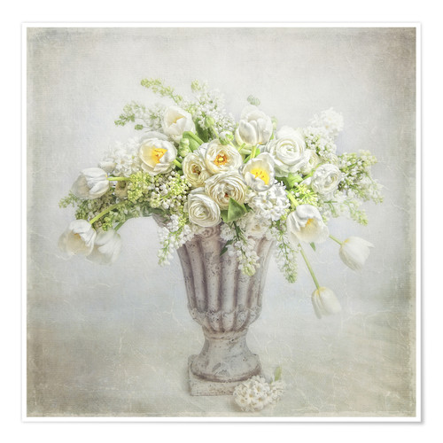 Poster spring bouquet