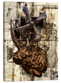 Canvas print  Brain machine - diuno