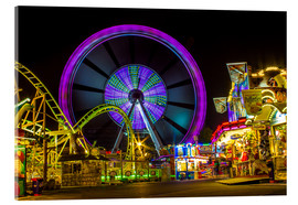 Acrylic print  Ferris wheel at the Hamburger Dom funfair funfair - Dennis Stracke