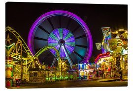 Canvas print  Ferris wheel at the Hamburger Dom funfair funfair - Dennis Stracke