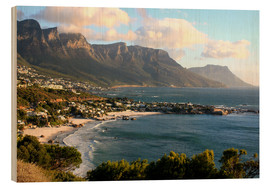 Wood  South Africa Cape Town with beach landscape - John Morris
