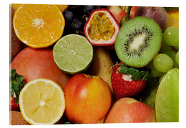 Acrylic print  Fruits Background - Thomas Klee