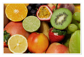 Premium poster Fruits Background