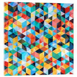 Acrylic print  Abstract Mosaic Pattern - TAlex