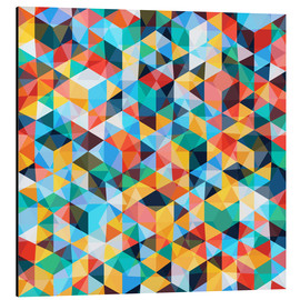 Aluminium print  Abstract Mosaic Pattern - TAlex