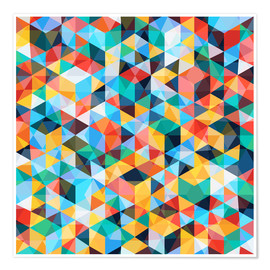 Premium poster  Abstract Mosaic Pattern - TAlex