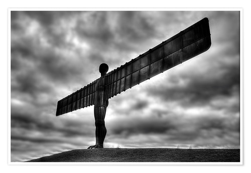 Premium poster Angel Of The North