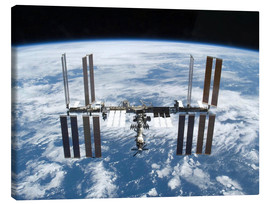 Canvas print  Space station of Space Shuttle Atlantis