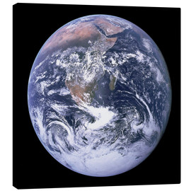Canvas print  Earth view from Apollo 17 moon mission