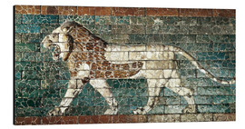Alu-Dibond  Lion mosaic at the temple of Babylon