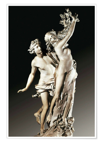Premium poster Apollo and Daphne