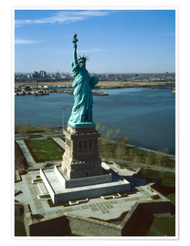 Premium poster  Statue of Liberty in New York, 1978