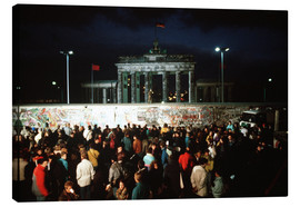 Canvas  Fall of the Berlin Wall