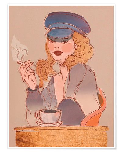 Poster Coffee and Cigarettes