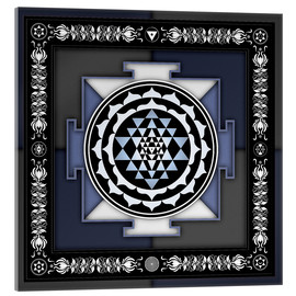 Acrylic glass  Sri Yantra - Artwork II - Dirk Czarnota