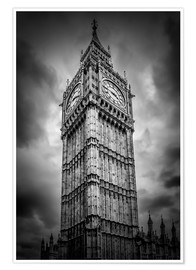 Premium poster  Big Ben London - Melanie Viola