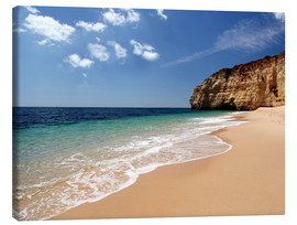 Canvas  Algarve beach, southern Portugal - Renate Knapp Waldundwiesenfee