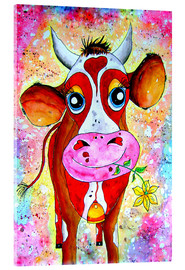 Acrylic glass  Cow Karla - siegfried2838