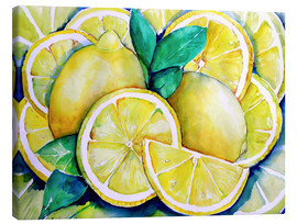 Canvas print  Lemon - Maria Földy