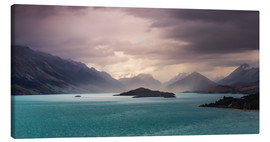 Canvas print  Storm over Glenorchy - Sebastian Warneke