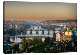 Canvas  Prague Sunrise - Markus Kapferer