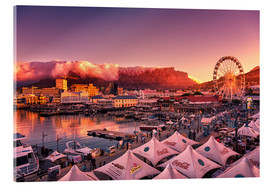 Acrylic print  Victoria & Alfred Waterfront, Cape Town, South Africa - Stefan Becker