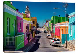 Canvas print  Bo Kaap, Cape Town, South Africa - Stefan Becker