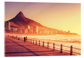 Acrylic print  Sunset, Cape Town, South Africa - Stefan Becker