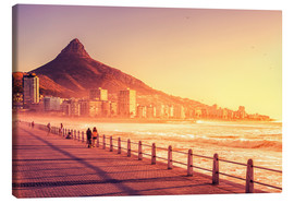 Canvas print  Sunset, Cape Town, South Africa - Stefan Becker