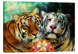 Canvas print  Tiger Lillies - Selina Morgan