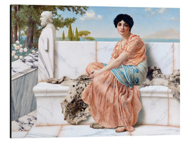 Aluminium print  In The Days Of Sappho - John William Godward