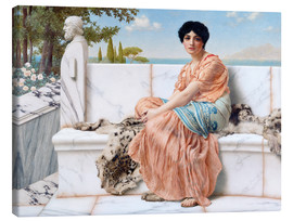 Canvas print  In The Days Of Sappho - John William Godward