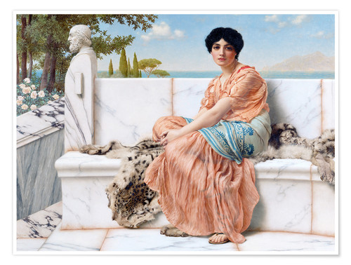 Premium poster In The Days Of Sappho