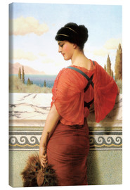 Canvas  Phyleis - John William Godward