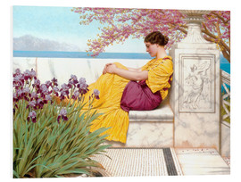 Forex  Under The Blossom That Hangs On The Bough - John William Godward