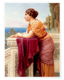 Premium poster  The Belvedere - John William Godward