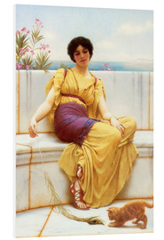 Forex  Idleness - John William Godward