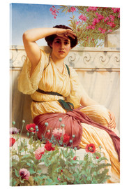 Acrylic glass  A Tryst - John William Godward