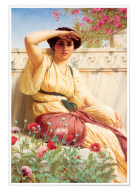 Premium poster  A Tryst - John William Godward