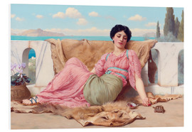 Forex  A Quiet Pet - John William Godward