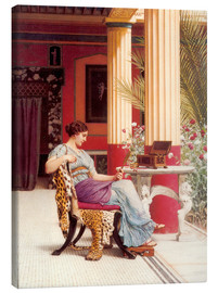 Canvas print  The Jewel Casket - John William Godward