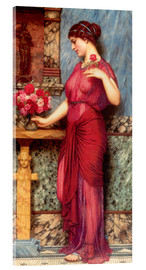 Acrylic glass  An Offering To Venus - John William Godward