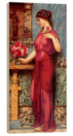 Wood  An Offering To Venus - John William Godward