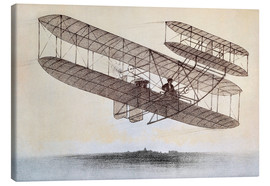Canvas print  Plane of the Wright brothers
