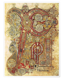 Premium poster  Book of Kells